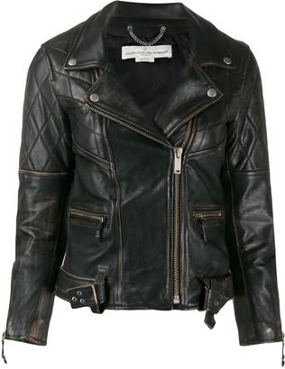 Golden Goose slim-fit biker jacket
