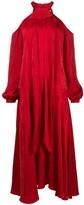 Racil floral off-the-shoulder maxi dress
