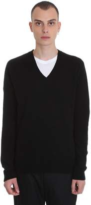 Mauro Grifoni Knitwear In Black Cashmere