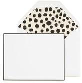 Sugar Paper Leopard Print Note Set - White