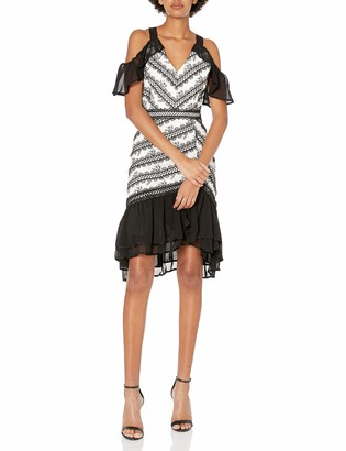 Adelyn Rae Women's Nola Frill Dress