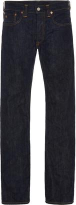 Ralph Lauren RRL Mid-Rise Selvage Denim Slim-Leg Jeans