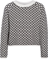 Tanya Taylor Perry layered stretch-knit sweater