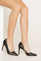 Forever 21 Faux Leather Pointed Pumps