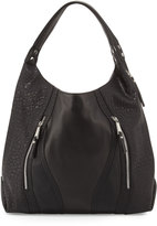 Cynthia Rowley Ollie Faux-Leather Tote Bag, Black