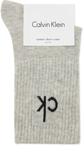 Calvin Klein Icon logo short crew socks