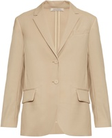 Nina Ricci Organdi single-breasted wool-crepe jacket