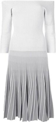 Alaïa Pre-Owned 2000 Striped Dress