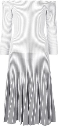 Alaïa Pre Owned 2000 Striped Dress