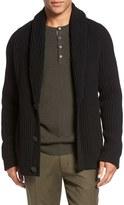 Vince Men's Trim Fit Shawl Collar Button Cardigan