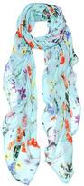 Elizabeth Gillett Floral Print Wrap