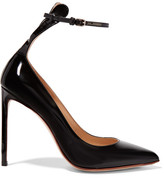 Francesco Russo Patent-leather Pumps - Black
