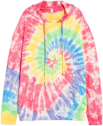 BP Be Proud by Gender Inclusive Tie Dye Tunic Hoodie