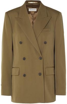 Dries Van Noten Double-breasted Wool Blazer