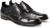 Officine Creative - Mono Distressed Leather Derby Shoes