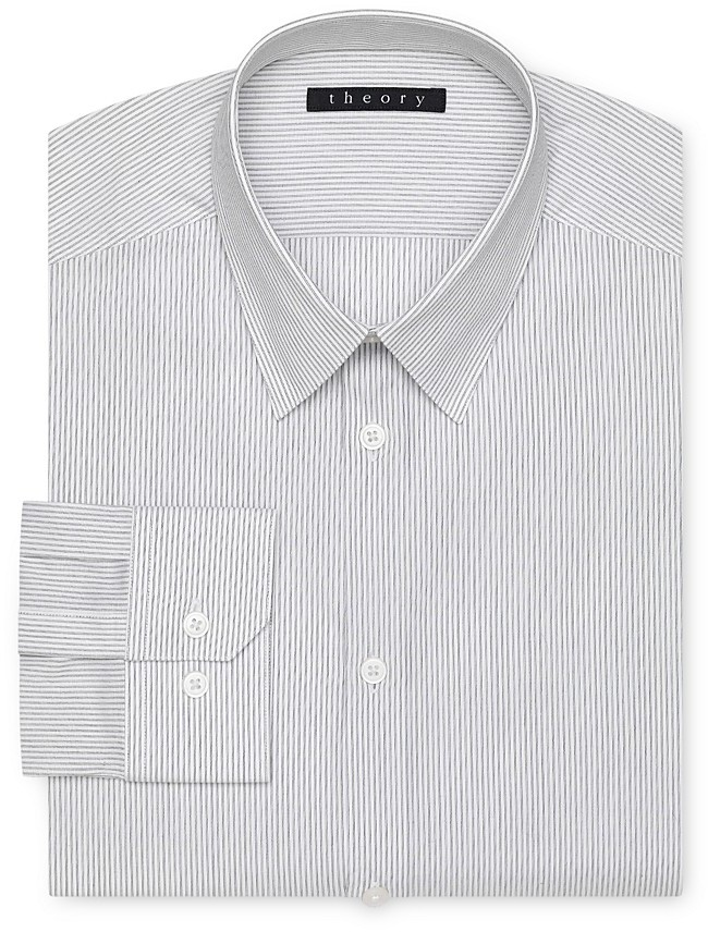 Theory Certify Dover Dress Shirt - Contemporary Fit