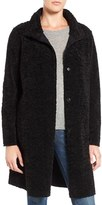 Velvet by Graham & Spencer Women's 'Lux' Reversible Faux Shearling Coat
