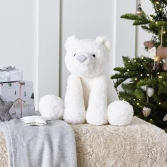 The White Company Lumi Polar Bear Medium Toy, White, One Size