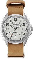 Timberland 'Raynham' Leather Strap Watch, 44Mm