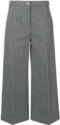 MSGM Houndstooth Trousers