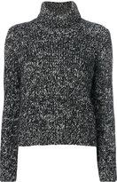 Moncler White Turtleneck Sweater