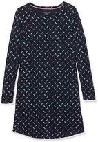 Tommy Hilfiger Girl's Dress Ls Sparkle Print Nightie,(Manufacturer Size: 10-12)
