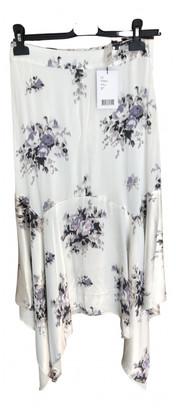 Ganni Spring Summer 2019 White Polyester Dresses