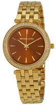 Michael Kors MK3408 Gold Tone Stainless Steel 33mm Womens Watch