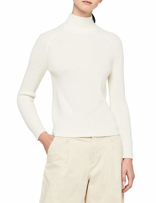Meraki Women's Chunky Wool-Blend Turtleneck Sweater