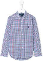 Ralph Lauren button-down checked shirt