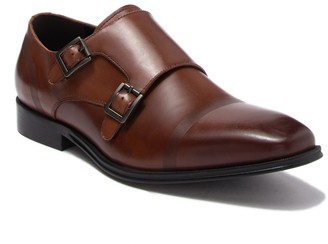 Kenneth Cole Reaction Pure Leather Monk Strap Loafer