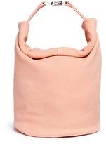 Creatures of Comfort 'Twist' mini suede bag