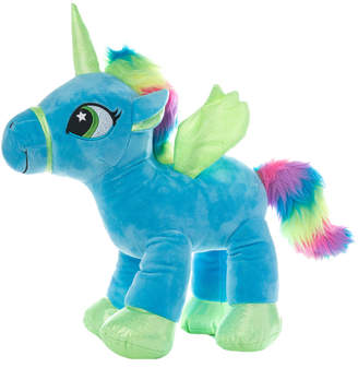 Yuka Magic Sparkle Blue Unicorn Plushy