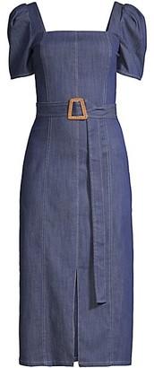 Shoshanna Candelaria Denim Dress