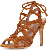 Joie Tonni Suede Strappy Sandal, Whiskey