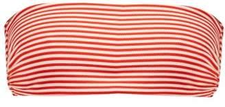 Mara Hoffman Abigail Striped Bandeau Bikini Top - Womens - White