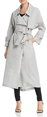 Giorgio Armani Emporio Oversized Double-Breasted Trench Coat