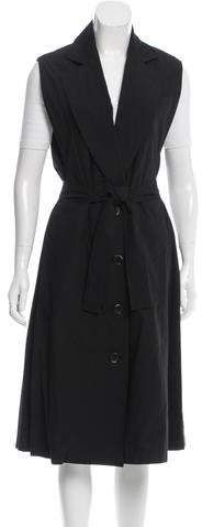 Tome Belted Trench Vest w/ Tags