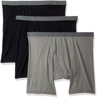 Fruit of the Loom Men's 3-Pack Big Man Premium Boxer Brief