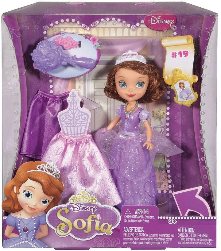 Mattel Disney Sofia the First Curtsy Doll by