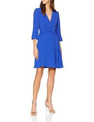 Karen Millen Women's Folded Crepe Day DresParty Party Dress,(Size:UK )