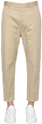 DSQUARED2 BRAD STRETCH COTTON TWILL PANTS