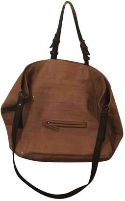 Jerome Dreyfuss \N ochre Leather Handbags