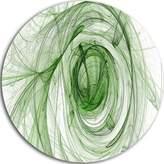 Design Art Designart Mt8016-C11 Ball of Yarn Spiral Abstract Metal Artwork