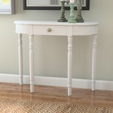 Andover Mills Kauffman Console Table Color: White
