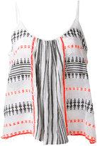 Lemlem striped tank top - women - Cotton/Acrylic - XS/S