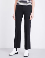 Claudie Pierlot Pepite cropped woven trousers