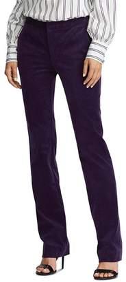 Ralph Lauren Straight-Leg Corduroy Pants