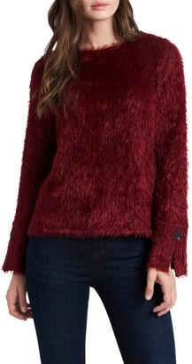 Vince Camuto Eyelash Fuzzy Sweater