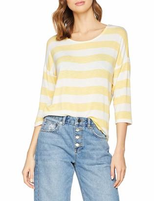 Vero Moda Women's Vmwide Stripe 3/4 Blouse Color T-Shirt